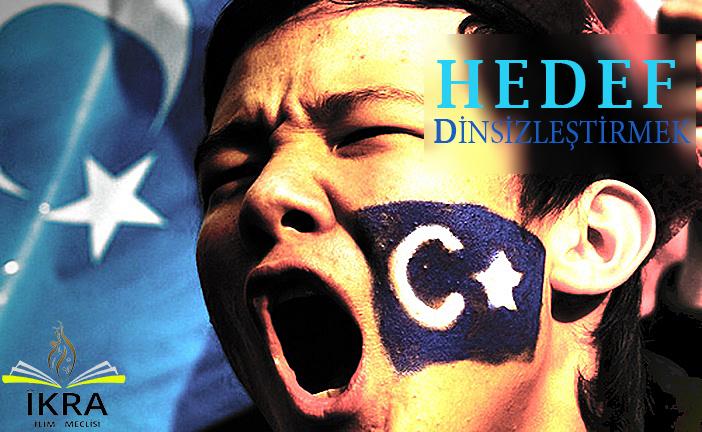 Çin işkencesi sürüyor, Türk izleri siliniyor.