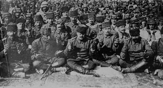 1. Dünya savaşındaki Türk askerleri